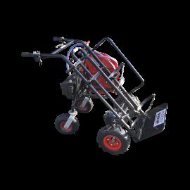 Diable motorisé avec enrouleur automatisé