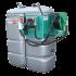 """Beiser Environnement - Station citerne fuel double paroi en plastique PEHD sans odeur 1500 L """"modèle Confort+"""" avec enrouleur et limiteur de remplissage 2"""""""
