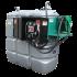 """Beiser Environnement - Station citerne fuel double paroi en plastique PEHD sans odeur 2000 L sécurisée - Modèle Confort + avec limiteur de remplissage 2"""""""