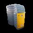Beiser Environnement - Station citerne fuel verticale double paroi 10000 litres avec pompe immergée - Extérieur