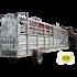 Beiser Environnement - Couloir de contention 10,50 m Pneumatique avec relevage hydraulique et système de pesée - Vue d'ensemble
