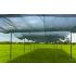 Ombrière mobile avec voile 210 gr/m²
