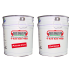 Peinture BEISER EPOXY support acier zinc galva et alu, gris clair, brun rouge pot de 1,2 kg
